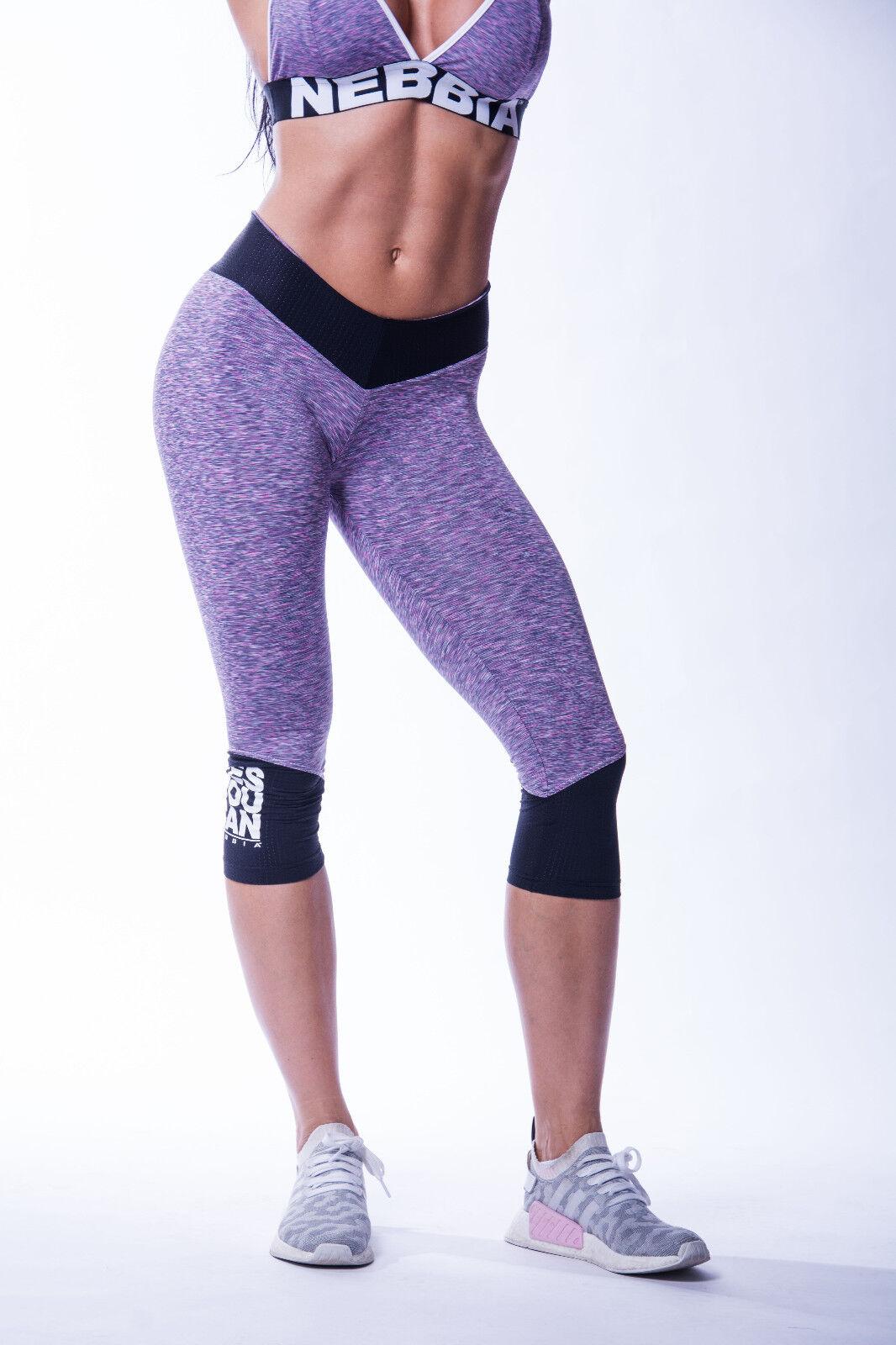 NEBBIA High waist ¾ ¾ waist leggings 607 b3c161