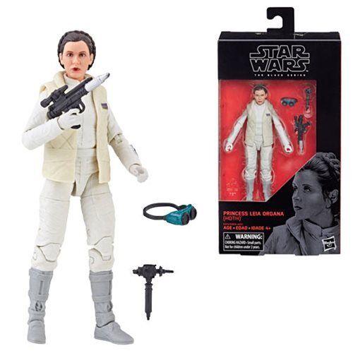 "Star Wars The Black Series Princess Leia Organa #75  6/"" Action Figure MIB Hoth"