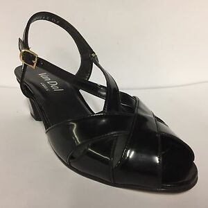 58d1ea6a1b Van Dal Ladies Strappy Sandals  Libby II  Black Patent E Fitting RRP ...