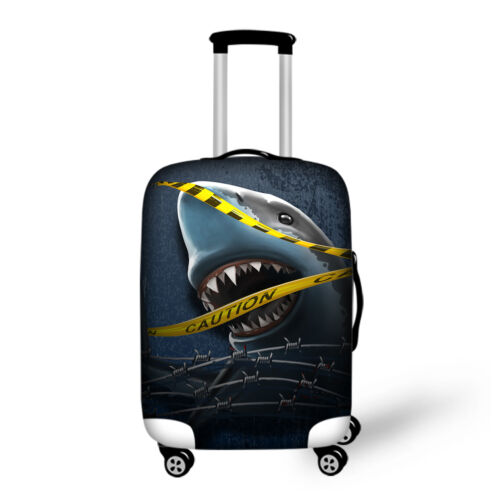 Cool Shark Travel Suitcase Protector Luggage Cover 18 20 24 26 28 inch Elastic