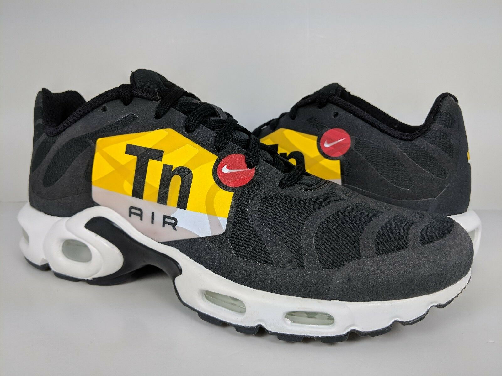 5c0d02bd14 Nike Men's Air Max Plus NS GPX GPX GPX Black White Tuned Air Big Logo (