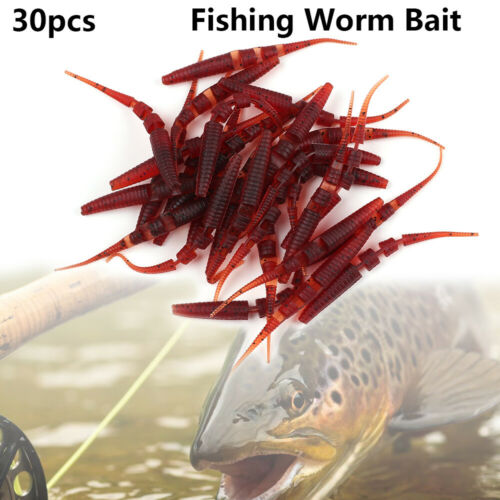 8.5cm Fishing Lures Soft Lure Artificial Bait Tackle for Pike And Bass Worm Bait