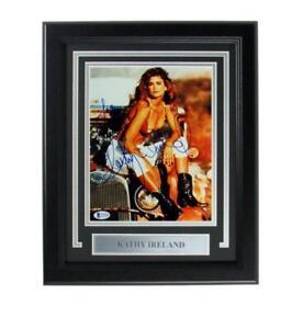Kathy Ireland Signed/Autographed 8x10 Framed Photo BAS 152782