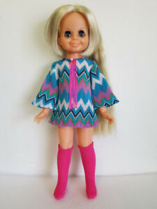 VELVET-DOLL-CLOTHES-Groovy-Dress-Boots-amp-Necklace-HM-Fashion-NO-DOLL-dolls4emma