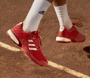 Adidas Mens Barricade 2018 Boost Clay