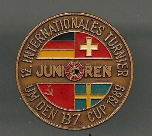 EISHOCKEY PIN  JUNIORENTURNIER SC BERN 1989  579  DEL NHL