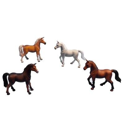 8 Asst 11.5cm Cheval Brilliant Horse Light Brown 116 Scale A Complete Range Of Specifications