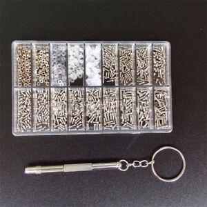 Tiny-Screws-Nut-Screwdriver-Watch-Eyeglass-Glasses-Repair-Tool-Set-Kit-1000pcs