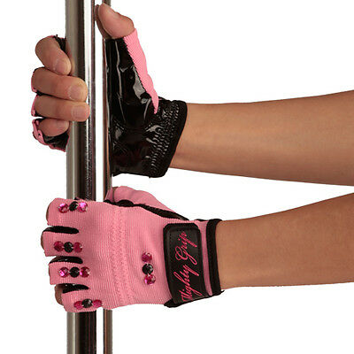 Mighty Grip ★ Pole Dance Handschihe Mit Extra Glitzer ★