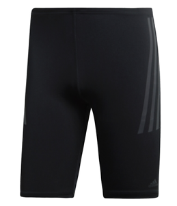 Details zu adidas Herren Jammer Pro 3 Streifen Badehose Badeshort schwarz DP7514