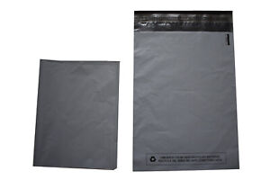 Grey-Mailing-Bags-Strong-Poly-Postal-Postage-Post-Mail-Self-Seal-CHEAP-All-Sizes