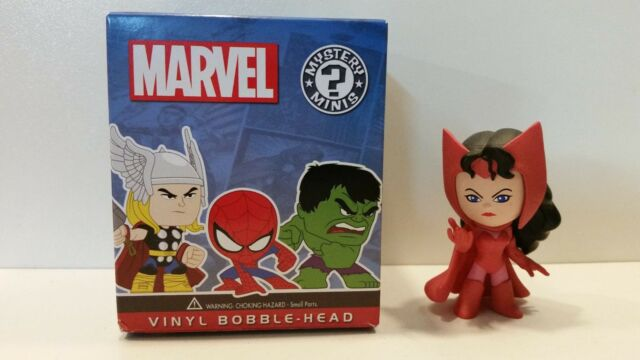 Mystery Mini's Bobble heads Marvel loose Scarlet Witch