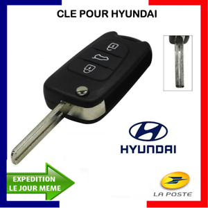 Coque Plip Clé Télécommande 3 Boutons pour hyundai  i20 I30 i35 ix20 IX35