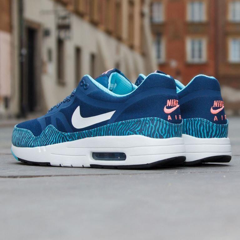 Nike Air Max 1 PRM TAPE Brave bluee & & & Summit Whit Sz 9 599514-410 Mens 96bf65