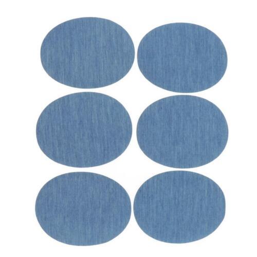 6x Bügelflicken Jeansflicken Flicken zum Aufbügeln Aufbügelflicken Aufbügler