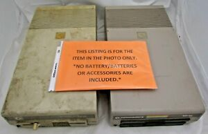 Lot-Of-2-1984-COMMODORE-VINTAGE-1541-FLOPPY-DISK-DRIVE-5-25-Power-on-Test-Only