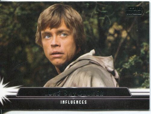 Star Wars Jedi Legacy Influencers Chase Card I-8 Luke Skywalker