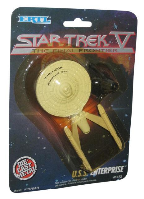 Star Trek V The Final Frontier U.S.S. Enterprise Ertl Die Cast Metal Ship