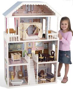 Image Is Loading KidKraft Savannah Dollhouse Furniture 12 034 Barbie Life