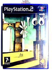 Ico-PS2-Playstation-Nuevo-Precintado-Videojuego-Retro-Sealed-New-PAL-SPA