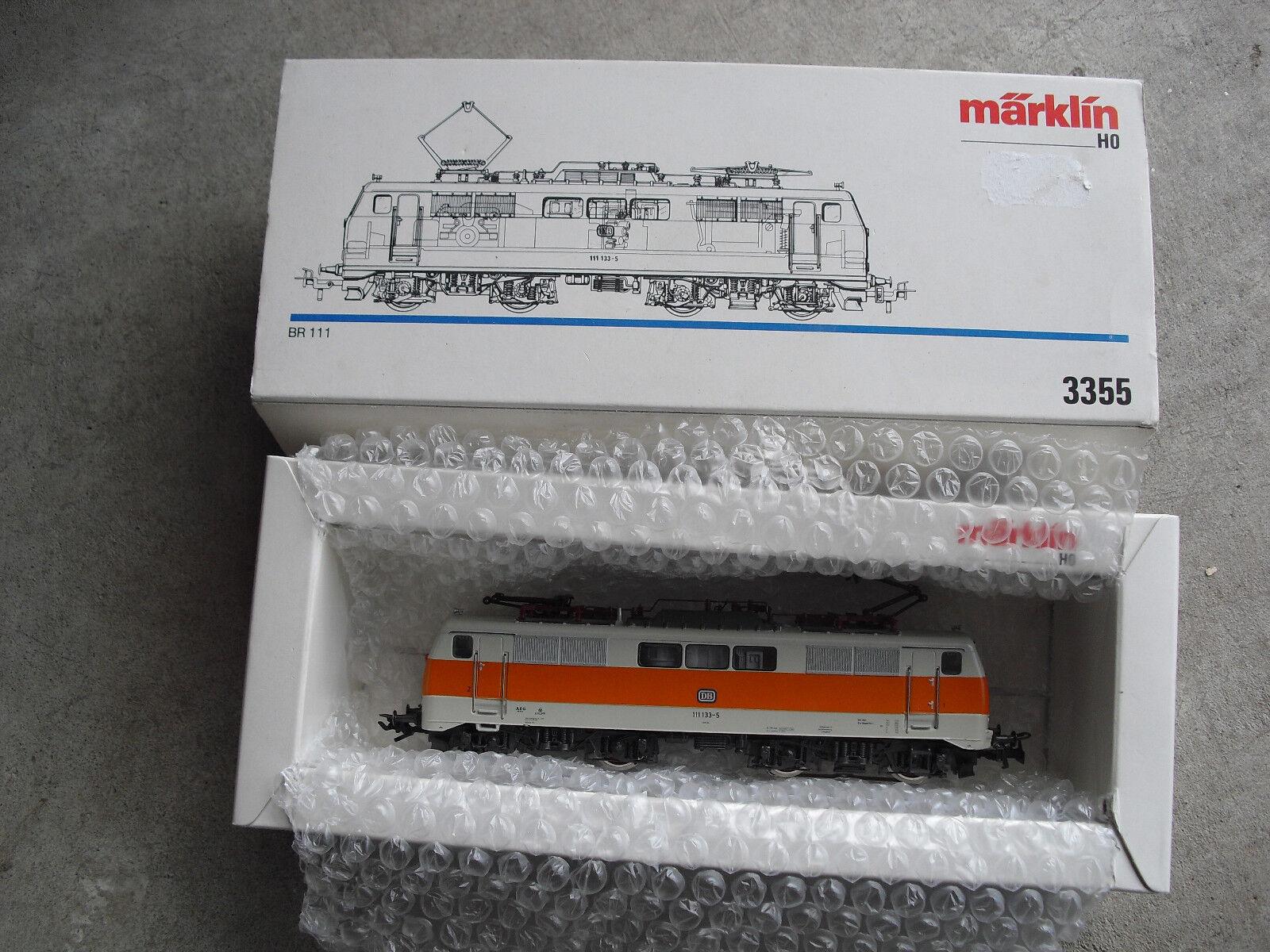 Marklin HO Scale DB 111 133-5 Electric DB Locomotive in Box 3355