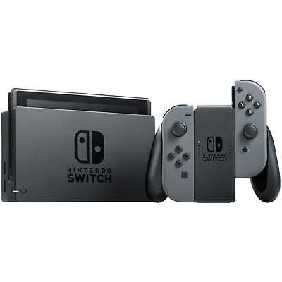 Nintendo Switch Refurbished 32GB Console Gray Joy-Con - REFURBISHED BY NINTENDO