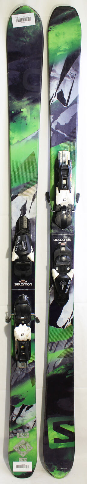 Salomon Q90 Demoskis - 177cm Gebraucht