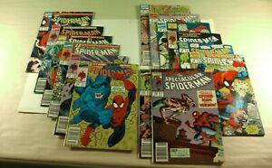 Lot-of-14-Marvel-Comics-Spider-Man-Saga-and-The-Spectacular-Spider-Man