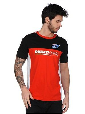 Official Casey Stoner Ducati Corse Dual T Shirt 17 36021 Ebay