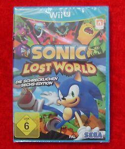 Sonic Lost World Die schrecklichen Sechs-Edition, Nintendo WiiU Spiel, Neu - Bayern, Deutschland - Sonic Lost World Die schrecklichen Sechs-Edition, Nintendo WiiU Spiel, Neu - Bayern, Deutschland
