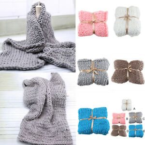Chunky-Knitted-Thick-Soft-Blankets-Hand-Warm-Bulky-Knit-Throw-Sofa-amp-Bed-Blanket