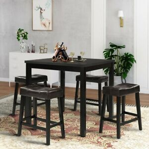 Square-Dining-Table-End-Bedside-Coffee-Tea-Kitchen-Home-Furniture-Wood-Dinette
