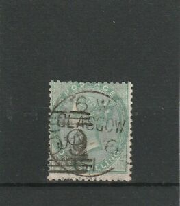 Gran-Bretagna-Inghilterra-MER-n-15-B-di-1856-timbrato-Regina-Vittoria-1-SH