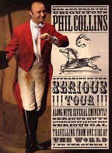 PHIL-COLLINS-1990-SERIOUS-TOUR-CONCERT-PROGRAM-BOOK-BOOKLET-NEAR-MINT-TO-MINT