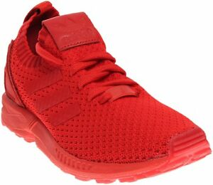 best website c72bf 3c9b6 Image is loading adidas-Originals-Mens-Zx-Flux-Primeknit-Casual-Shoe-