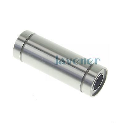 2 x LM 8LUU 8*15*45mm Round Long Type CNC Linear Motion Metal Shield Bearing