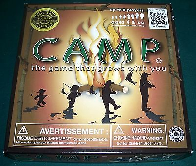 2009 Camp Nature Board Game - The Game That Grows With You - Never Played!