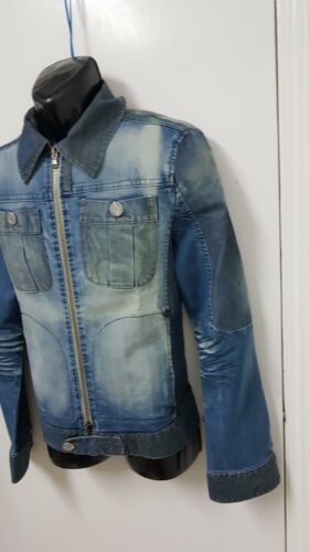 Giubbino Etre Hommes Jeans Nyc Xl Taille Italie Vintage Jacket Amazing Uxxq5wp