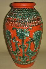 Vase Bay Keramik 70er 60er Jahre XL Bodenvase 40 Bodo Mans pottery fat lava WGP