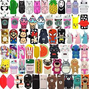 For-iPhone-SE-5-5s-5c-Hot-3D-Cute-Cartoon-Soft-Silicone-Phone-Case-Back-Cover