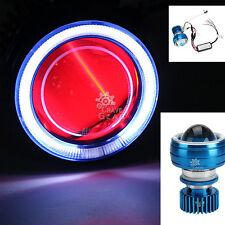 LED Projector Headlight Angel Demon Eyes For Yamaha FZ1 FZ6 FZ600 FZ700 FZ750