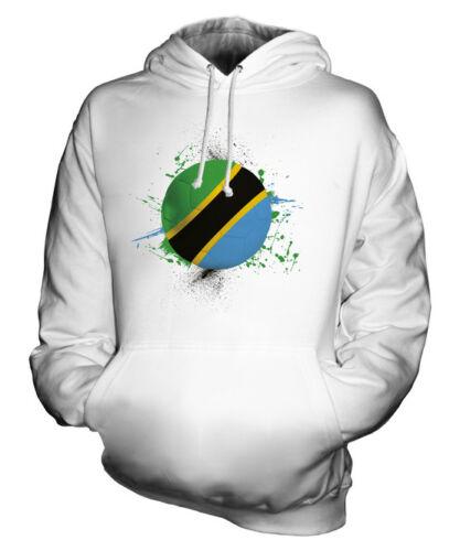 Tanzanie Unisexe Football Sport Du À Monde Cadeau Capuche Coupe Haut Sweat WBpn1xp