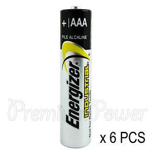 6-x-Energizer-Piles-AAA-Industrial-1-5-V-LR03-Micro-EN92-AM4-MN2400