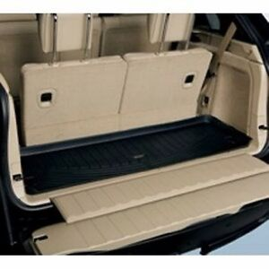 bmw oem e70 x5 all weather rubber cargo mat with 3rd third row seating ebay. Black Bedroom Furniture Sets. Home Design Ideas