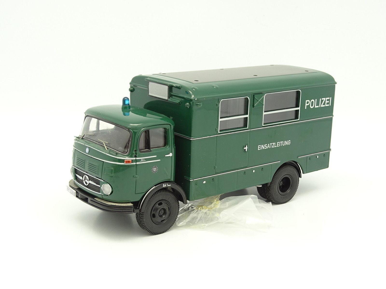 Premium Classixxs SB 1 43 - Mercedes LP911 Fourgon Cellulaire Polizei