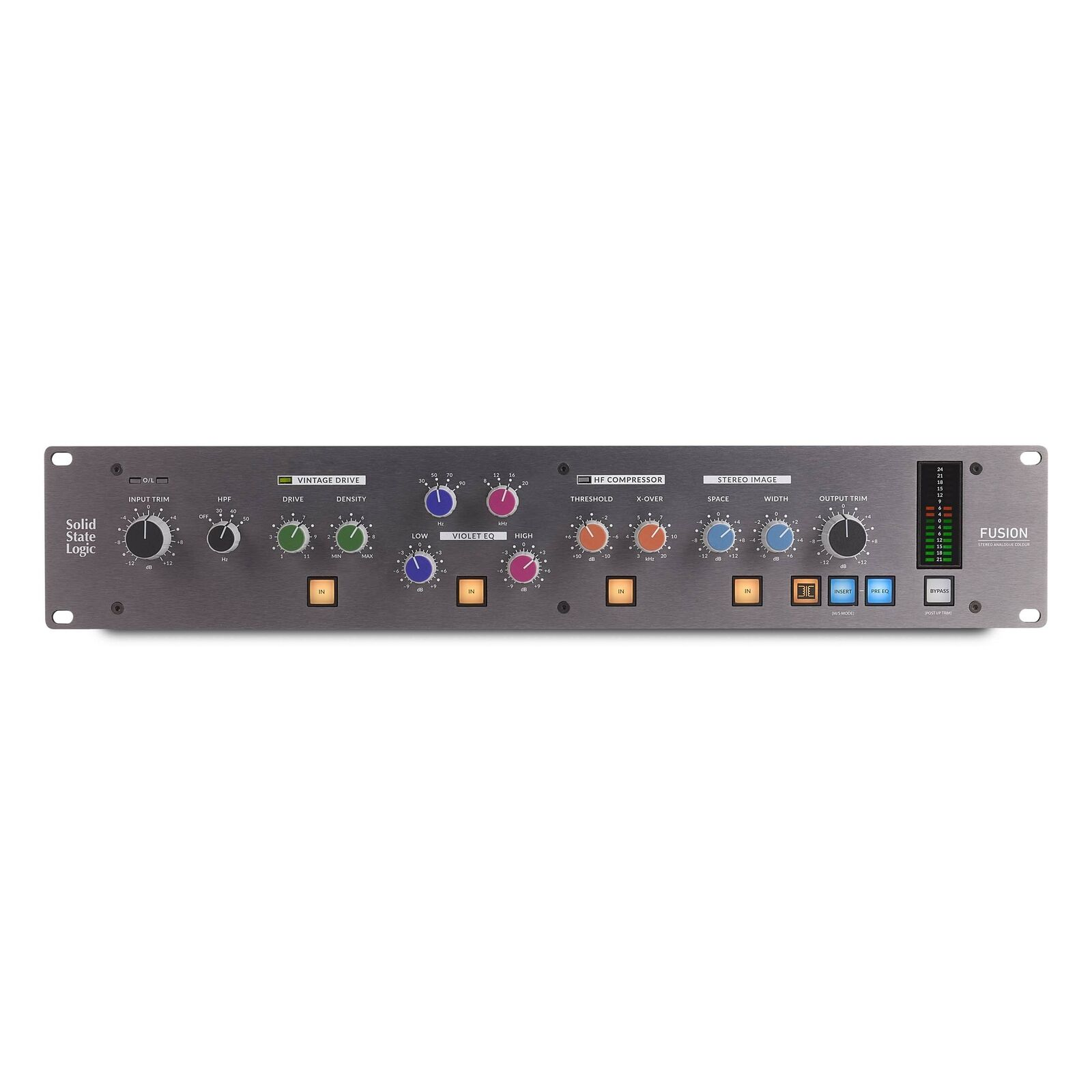Solid State Logic Fusion Stereo Analogue Colour. Available Now for 2298.00