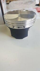 Wiseco Honda S2000 F20C/F22C 87.5mm Bore - +7 cc Dome - 11.5:1 Forged Piston kit
