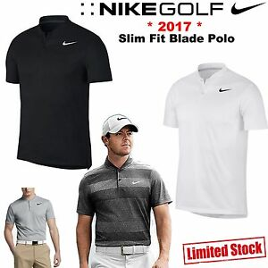 1f06f4878063 NIKE GOLF POLO SHIRT MENS GOLF CLOTHING NIKE BLADE SWOOSH POLO SHIRT ...