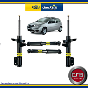 kit 4 ammortizzatori magneti marelli fiat punto ii serie. Black Bedroom Furniture Sets. Home Design Ideas