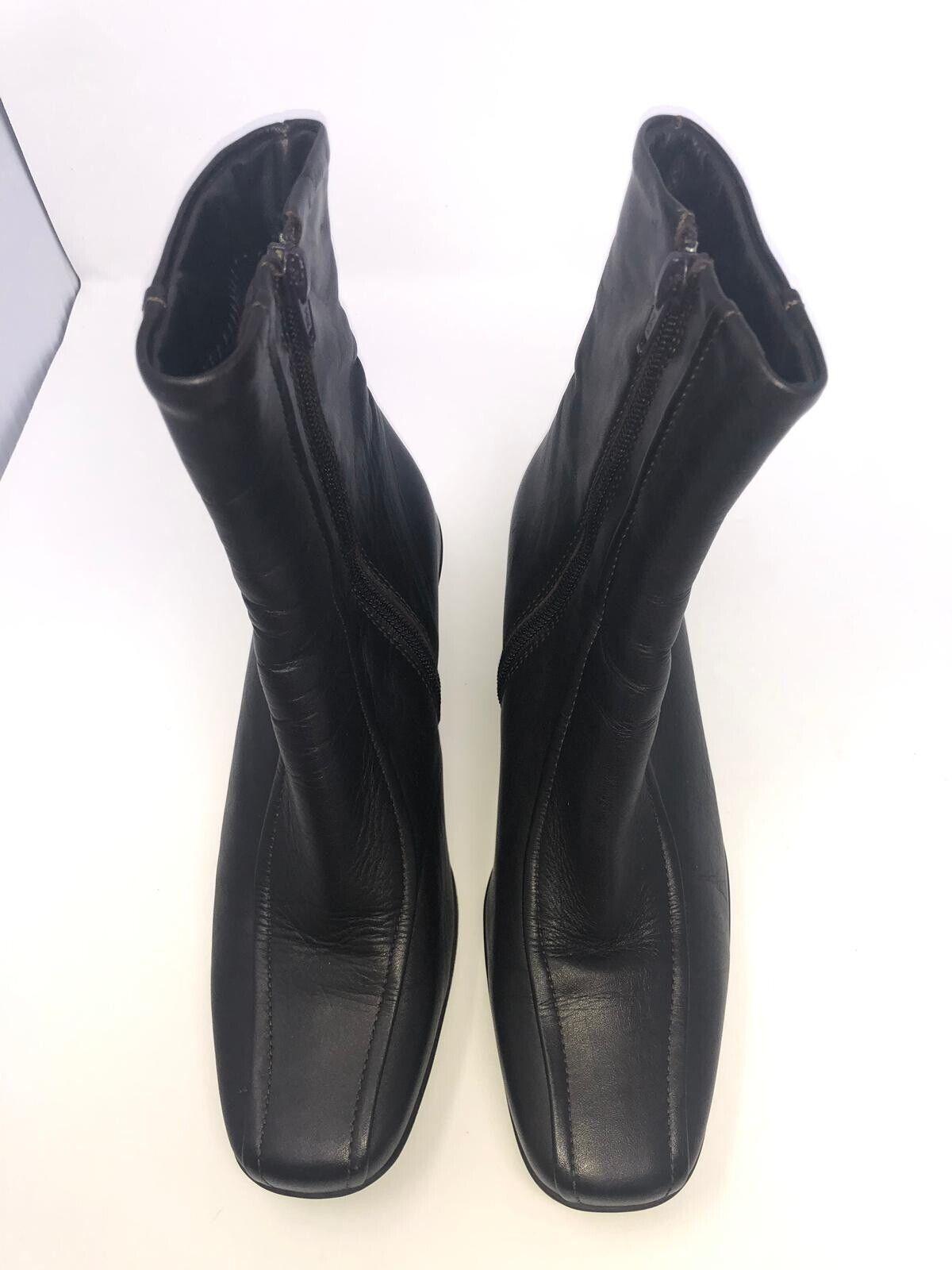 La Canadienne Femme Noir Imperméable en cuir Harley Pointure 6.5 M